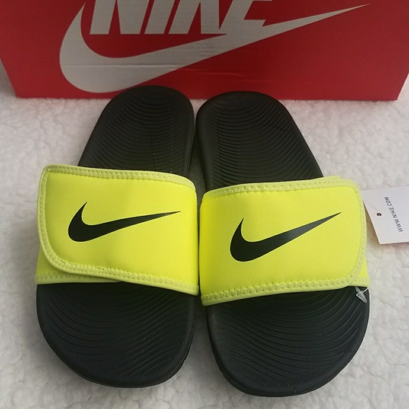 029cbf401 Nike KAWA adjustable boys slide sandals